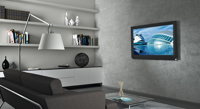 support tv mural lg maison design. Black Bedroom Furniture Sets. Home Design Ideas