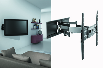 supports muraux pour tv cran plat et incurv m liconi. Black Bedroom Furniture Sets. Home Design Ideas