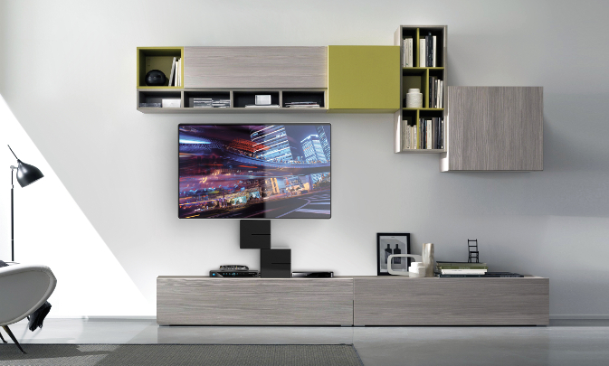 Porta Tv Led Meliconi.Ghost Cubes Cover Meliconi